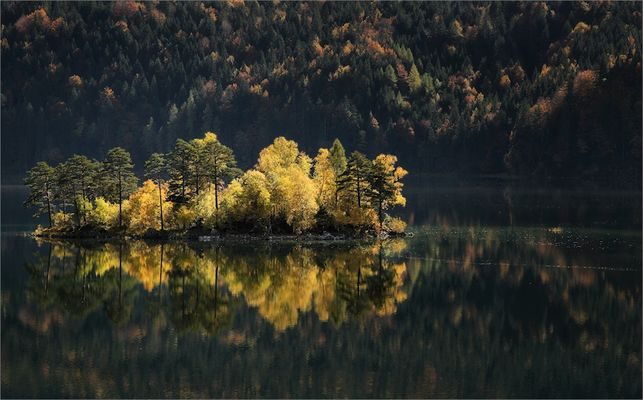 Herbstliche Insel