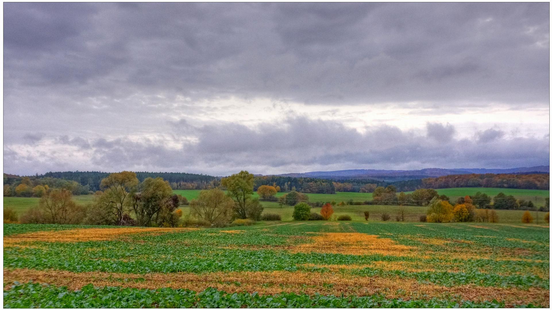 Herbstliche Landschaft II (paisaje otoñal Il)