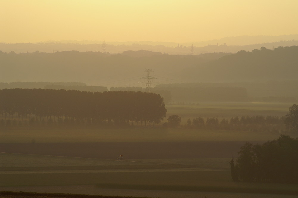 Herbstliche Morgenstimmung in der Westschweiz