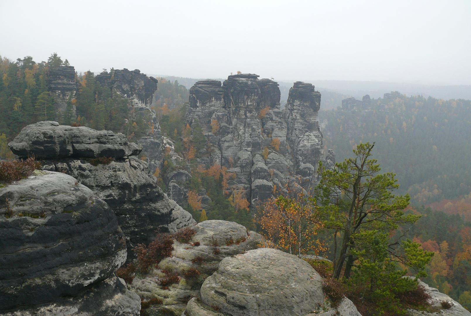 herbstliche Sächsische Schweiz