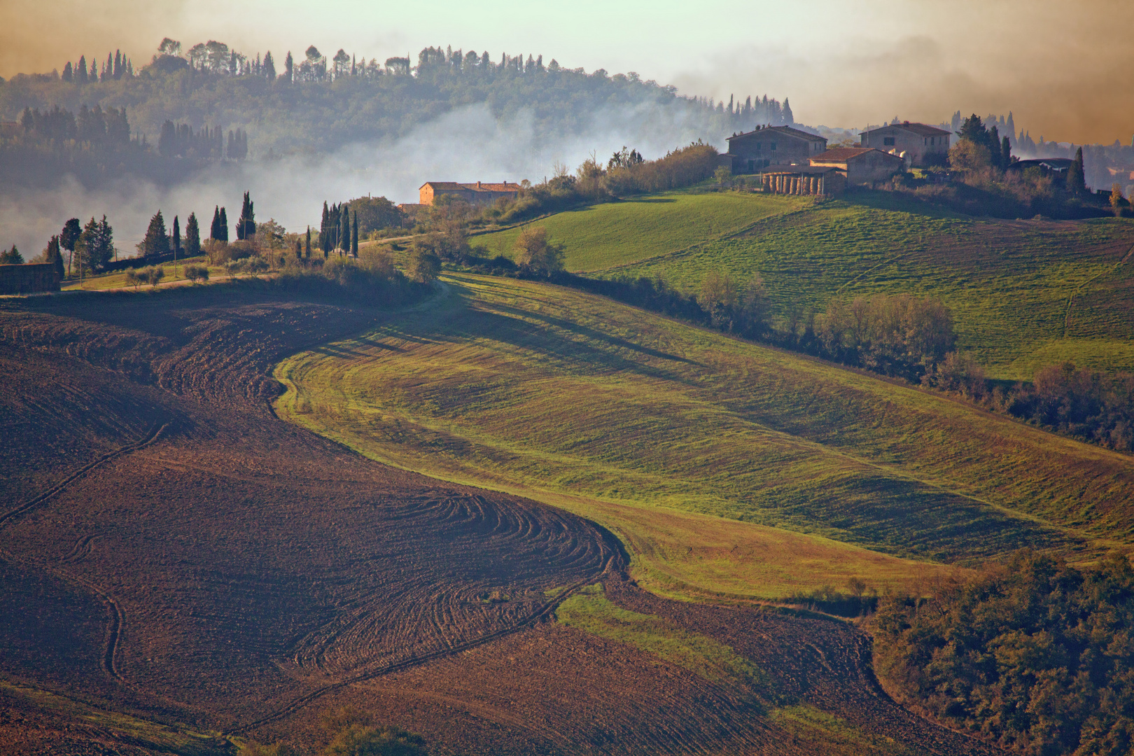 Herbstliche Toskana