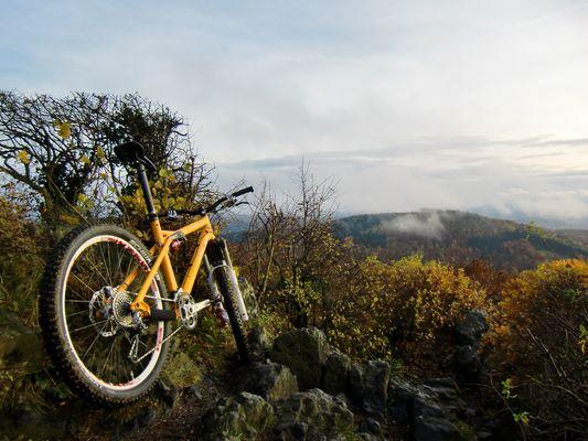 Herbstliche Tour im 7-Gebirge