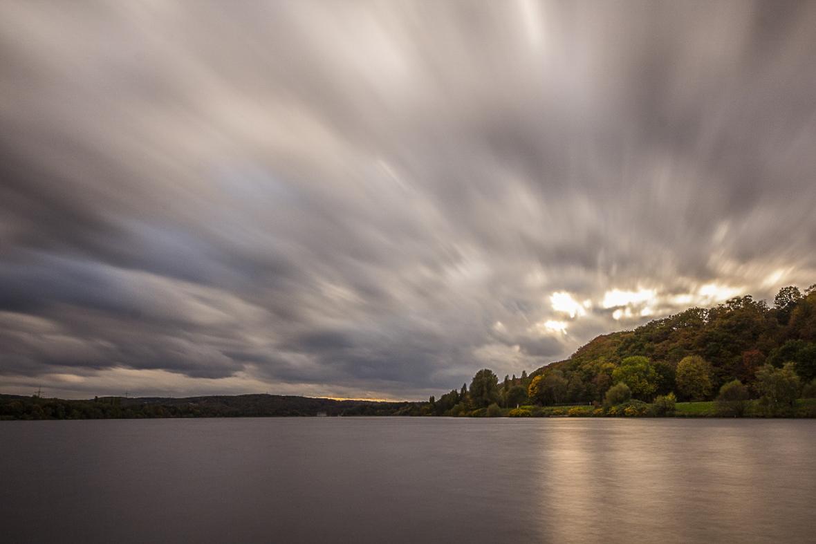 Herbstliche Wolkenbildung 2