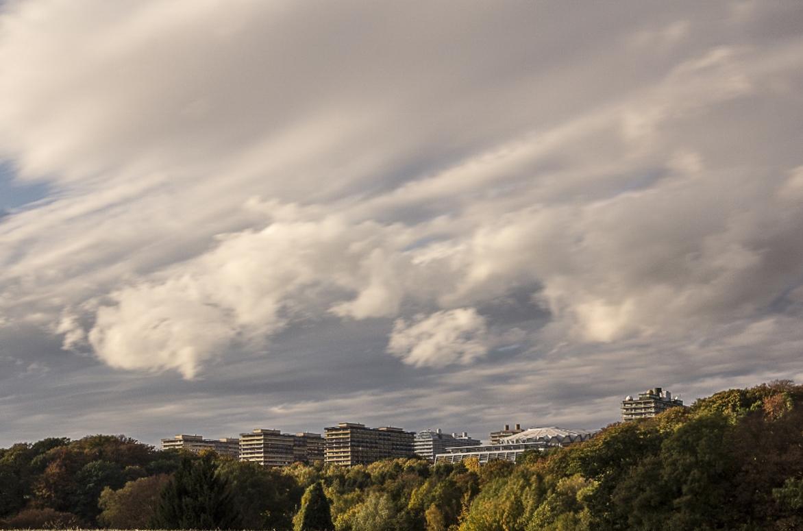 Herbstliche Wolkenbildung 3