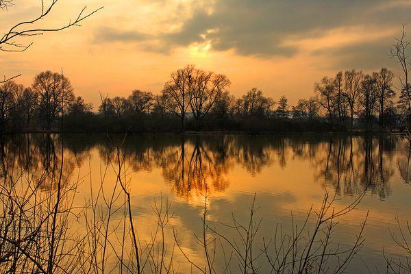 Herbstlicher Bruchsee