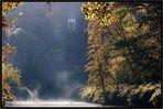 Herbstlicher Morgen an der Wupper -2