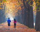 Herbstlicher Paarlauf