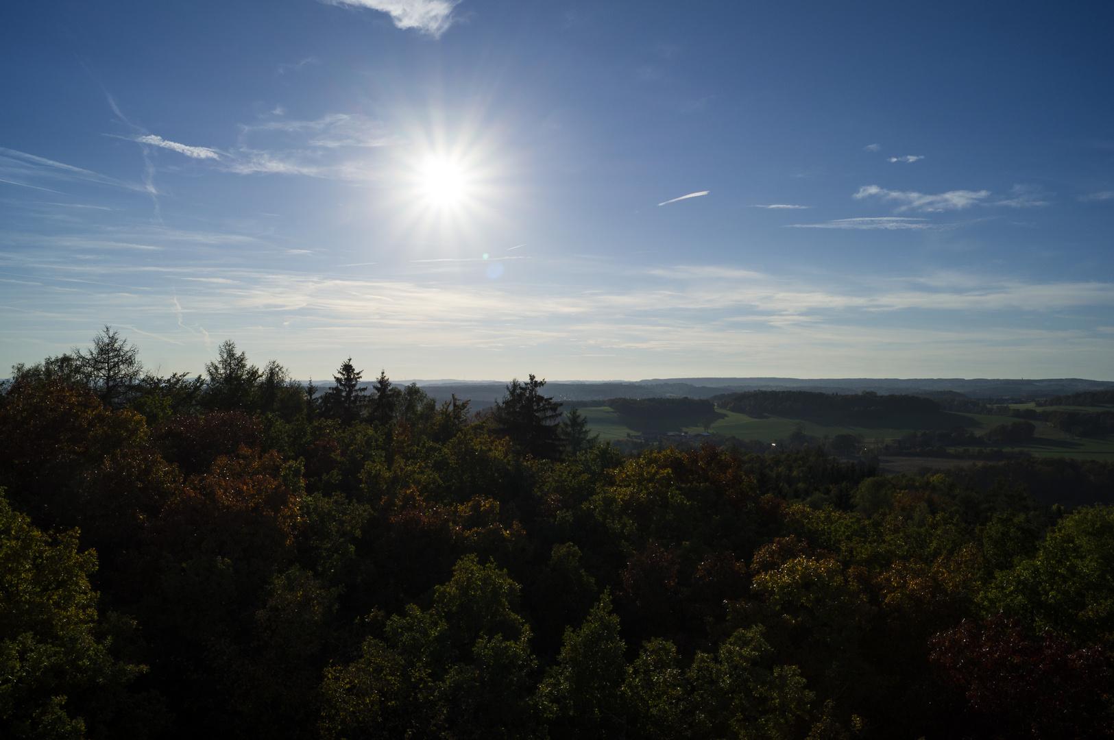 Herbstlicher Sonnenschein