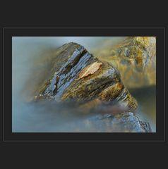 herbstlicher Wasserstein