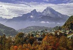 Herbstliches Berchtesgaden