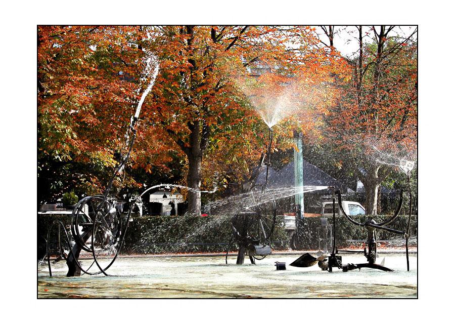 Herbstliches Duschgefühl...
