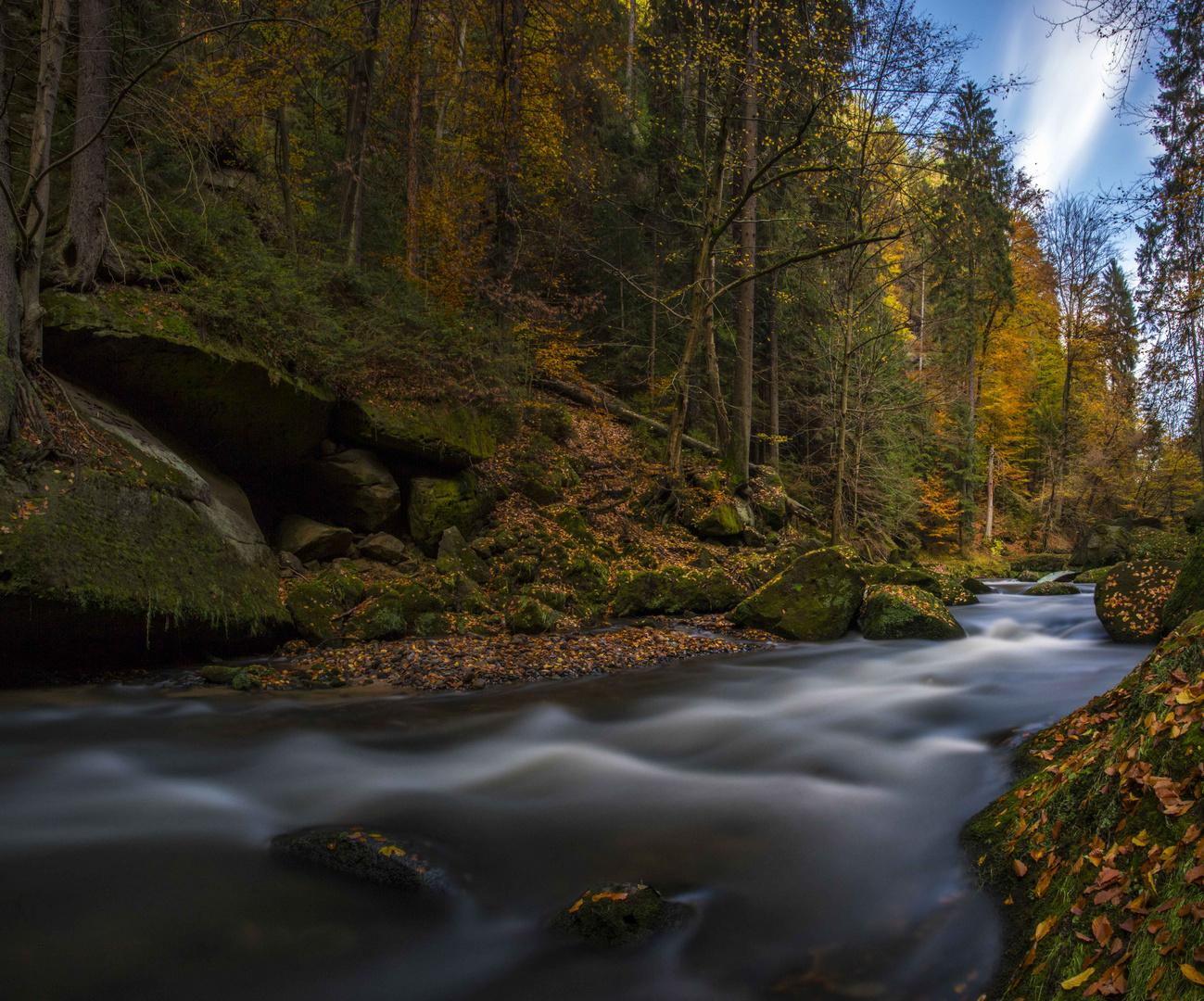 Herbstliches Edmundsklamm
