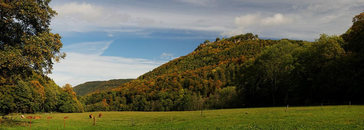 Herbstliches Hohenurach