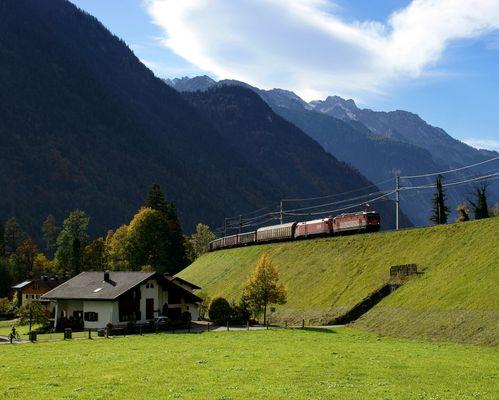Herbstliches Klostertal