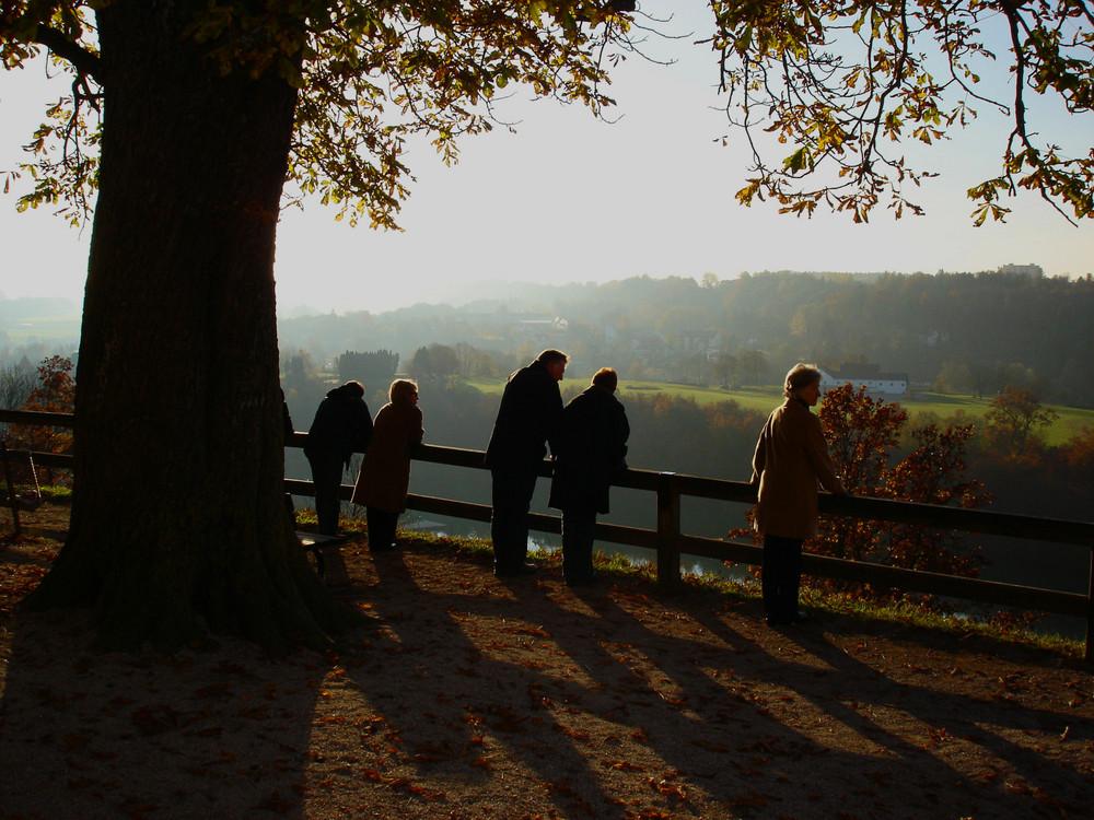 Herbstliches Licht bei den Schwurfingern