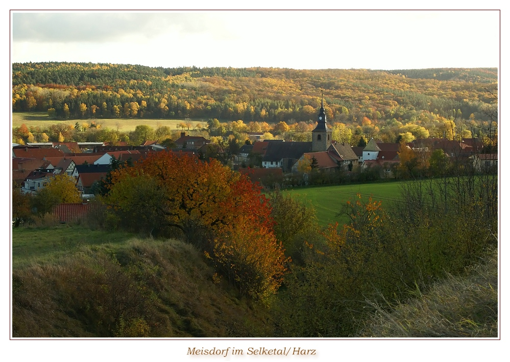 Herbstliches Meisdorf
