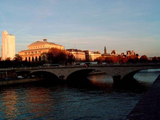 Herbstliches Paris