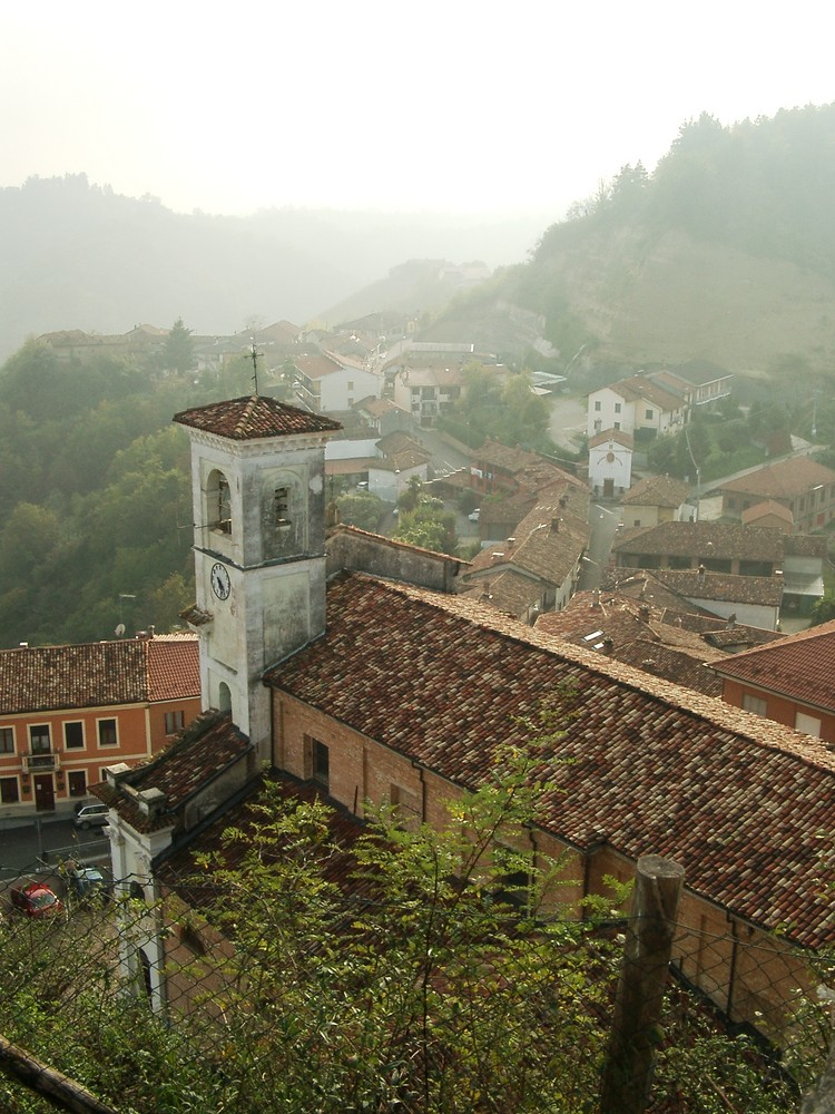 Herbstliches Piemont