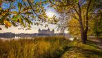 Herbstliches Schloss Moritzburg