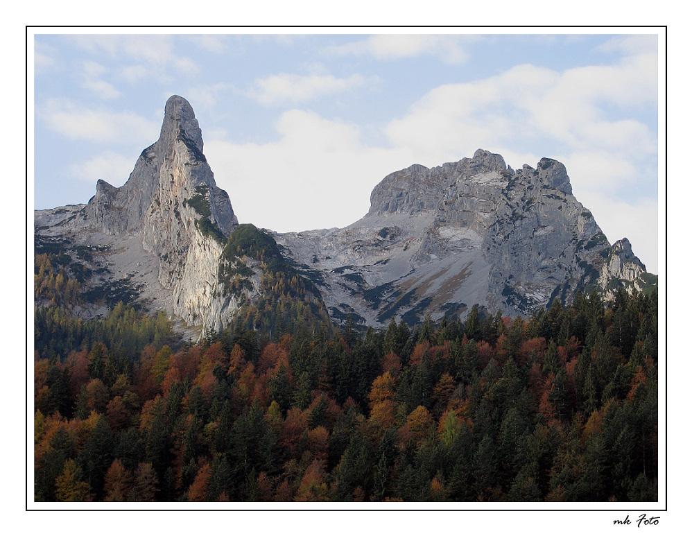 Herbstliches Tennengebirge
