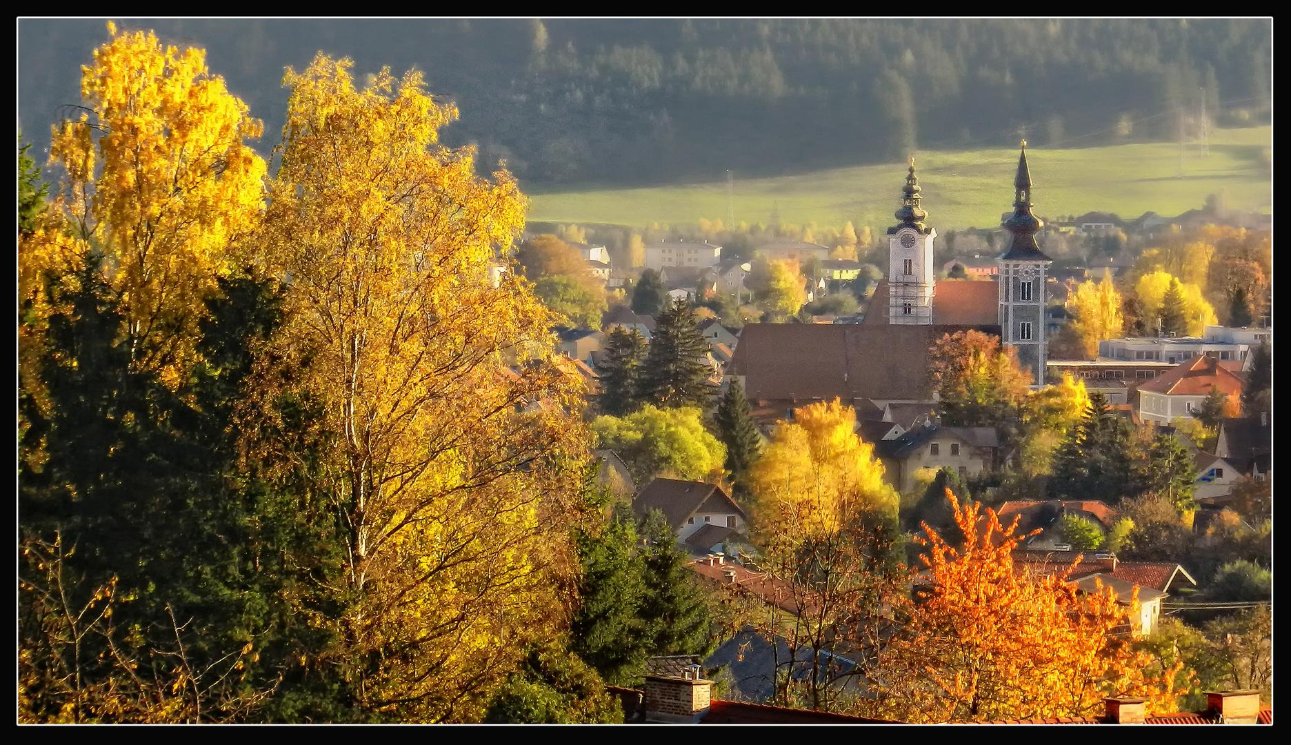 Herbstliches Trofaiach