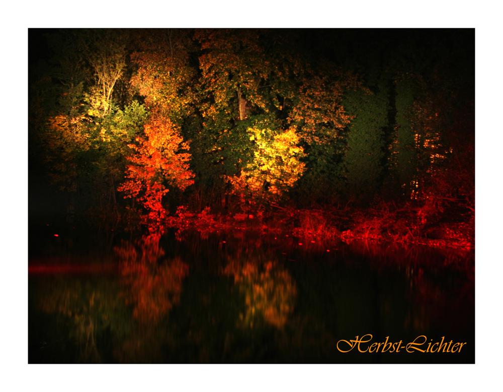 Herbstlichter ...