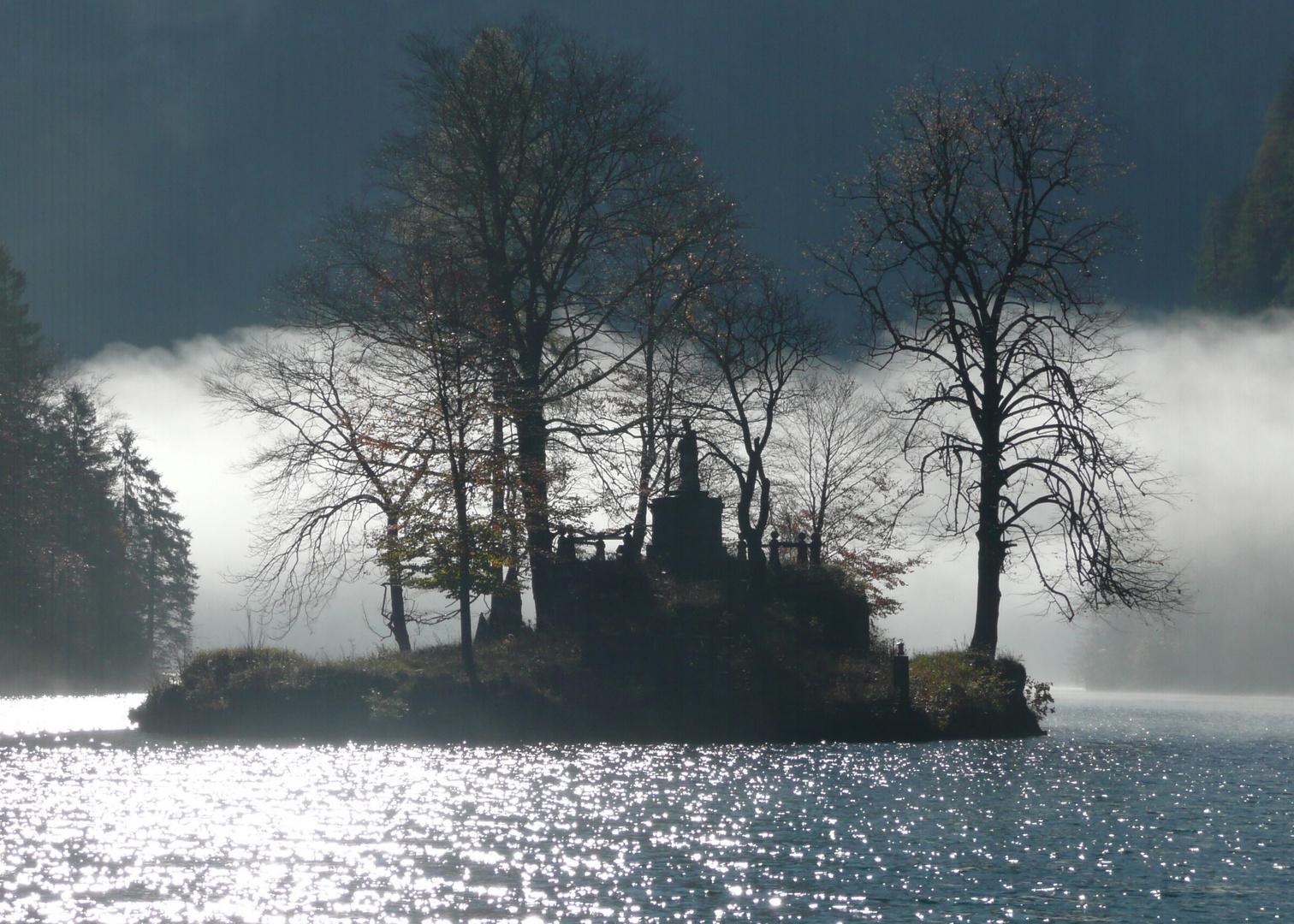 Herbstmorgen am Königssee