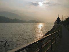 Herbstmorgen am Rhein