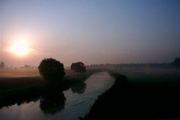 Herbstmorgen - Bilderbuchlandschaft