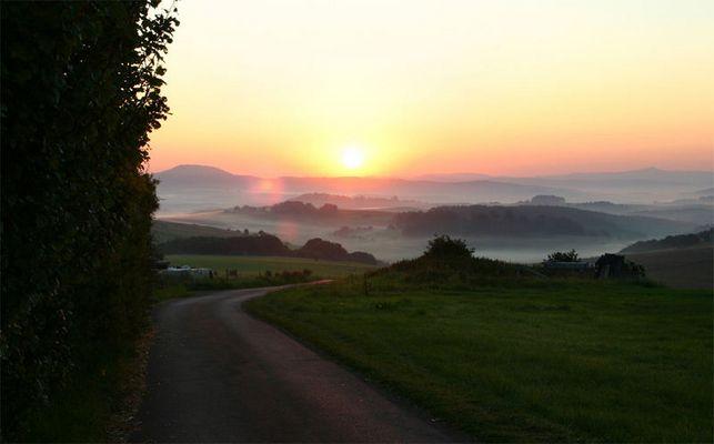 Herbstmorgen in der Eifel
