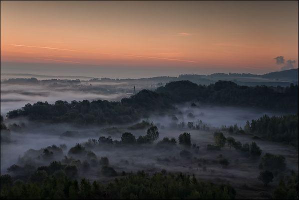 Herbstmorgen - Naturpark Haardt - Düdelingen