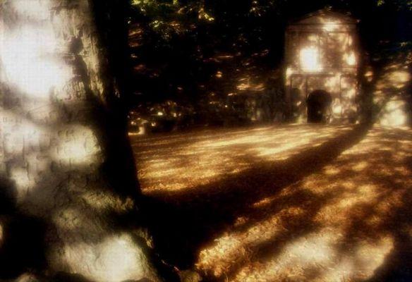 Herbstnachmittag am Elisabeth-Brunnen
