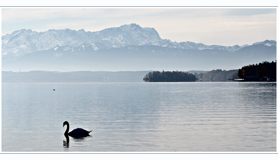 Herbstnebel überm Starnberger See...