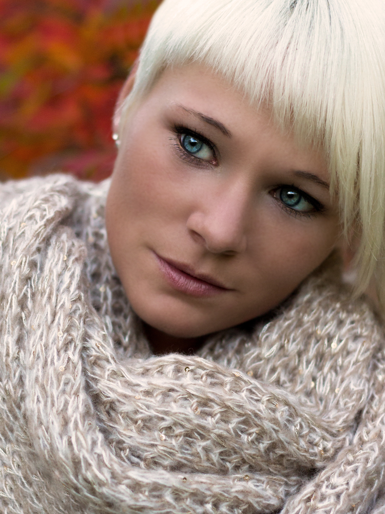 Herbstportrait mit TotalBlue