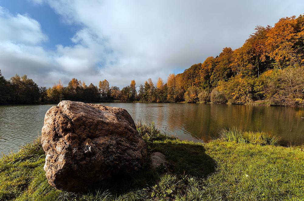 Herbstspaziergang an der Drau