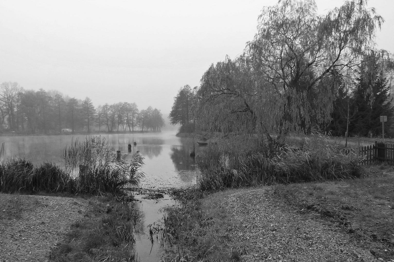 Herbststille am Kanal