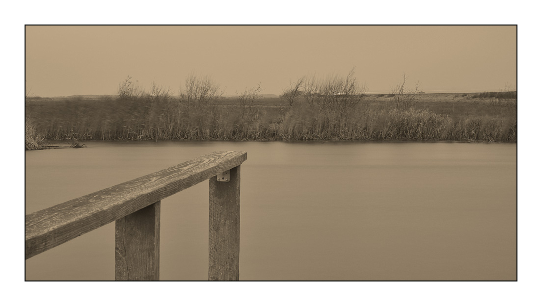 Herbststimmung am Fluss