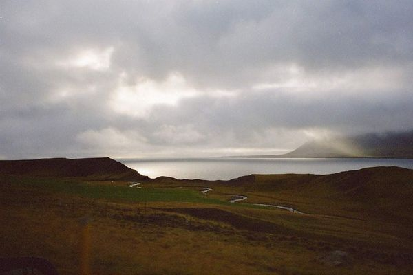 Herbststimmung am Hvalfjörður, Island 2002