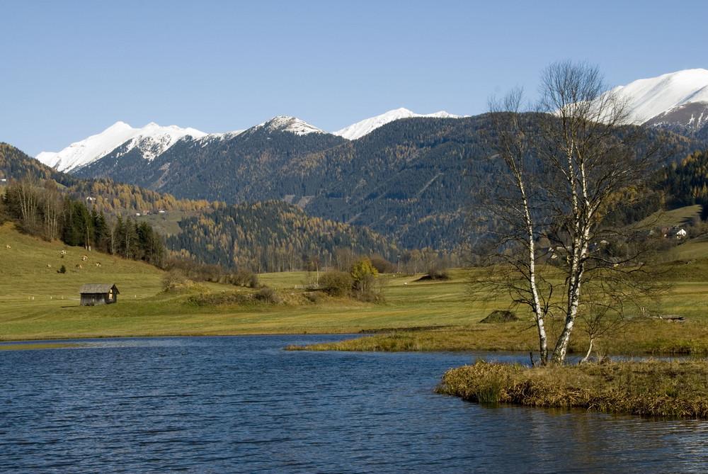 Herbststimmung am Rottenmanner Teich
