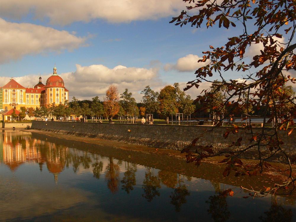 Herbststimmung an der Moritzburg