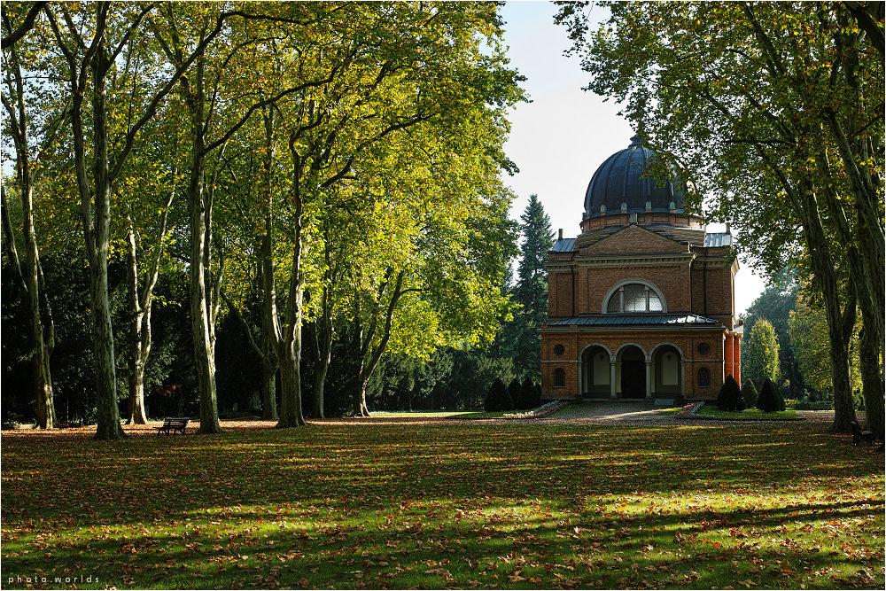 Herbststimmung auf dem Südfriedhof #2