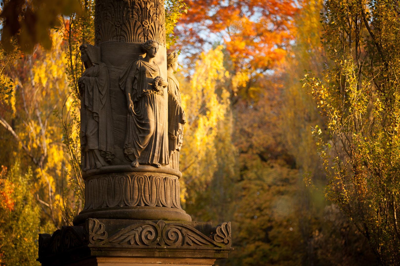 Herbststimmung im Englischen Garten