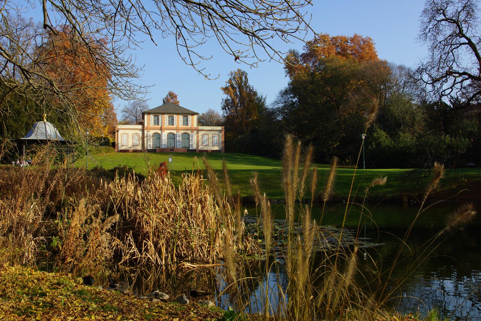 Herbststimmung im Prinz Emil Garten