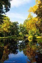 Herbststimmung im Schönwasserpark Krefeld