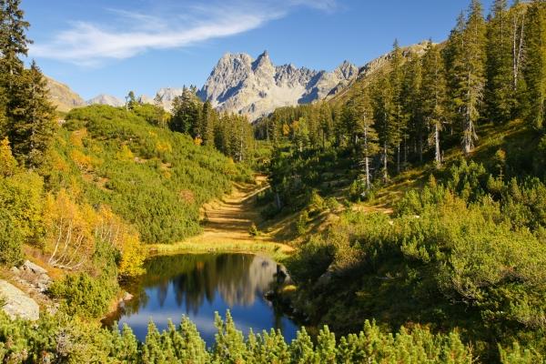 Herbststimmung in den Bergen