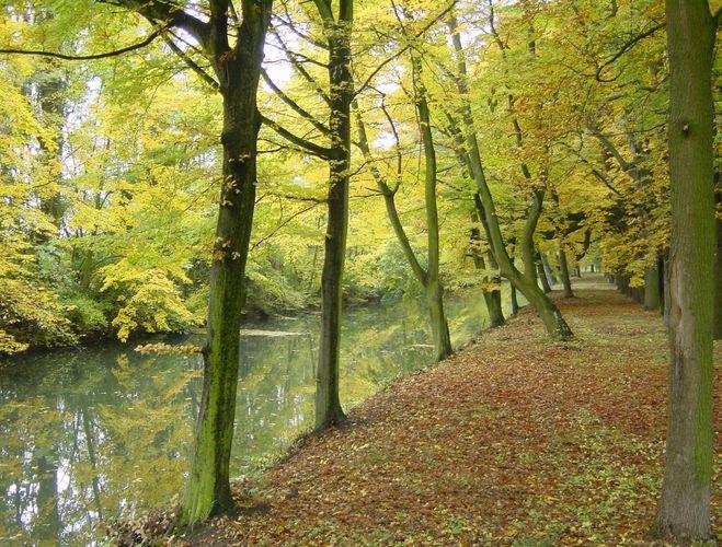 Herbststimmung in Laxenburg