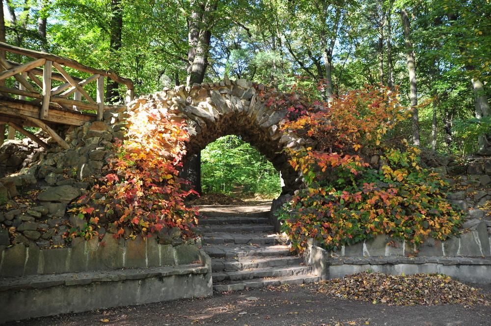 Herbststimmung Schloßpark Machern