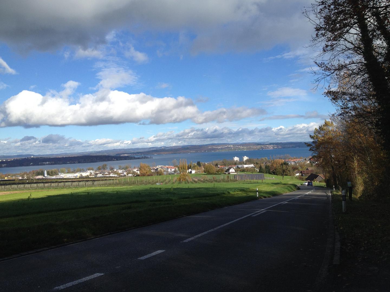 Herbststimmung über dem Bodensee