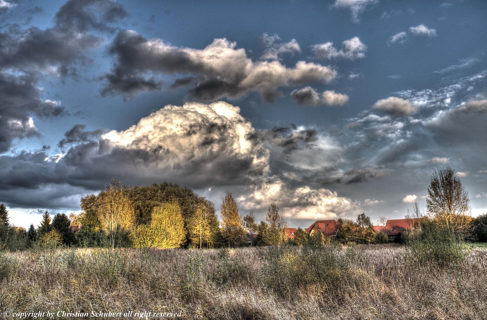 Herbststimmung über Weener