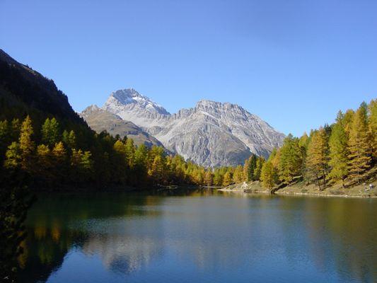 Herbsttag am Albulapass